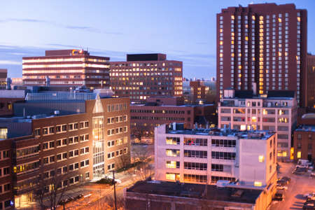 Kendall Square and the Massachusetts Institute of Technology, Cambridge photo
