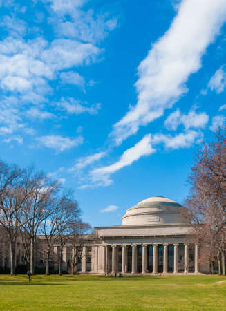 Massachusetts Institute of Technology MIT in Boston Stock Photo - 16979500