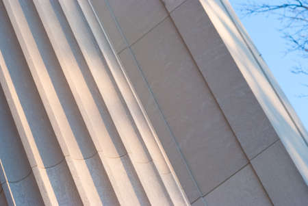 Detailed view of Greek style architectural column Stock Photo - 17159102