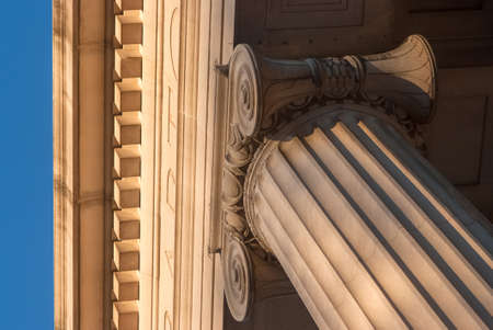 Detailed view of Greek style architectural column Stock Photo - 17159120