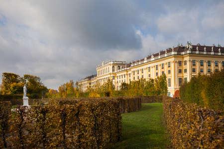 nbrunn: Schönbrunn (Schonbrunn) Palace and grounds in Vienna