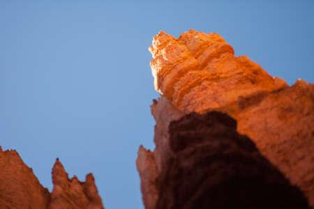 shift: Hoodoo in Bryce Canyon Utah, tilt shift effect