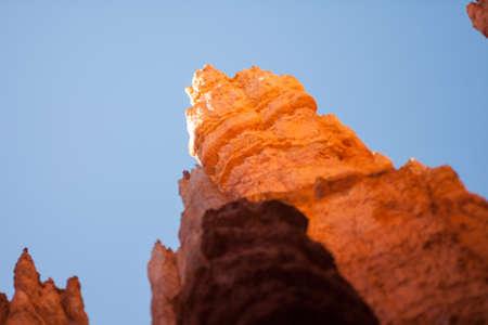 hoodoo: Hoodoo in Bryce Canyon Utah, tilt shift effect
