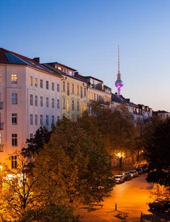 property berlin: Apartments in Berlins Prenzlauer Berg neighborhood with Fernsehturm
