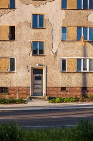 east germany: Apartment building in Frankfurt (Oder), Brandenburg (former East Germany)