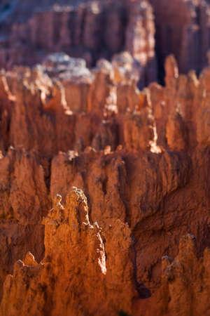tilt and shift: View over Bryce Canyon Utah, tilt shift effect