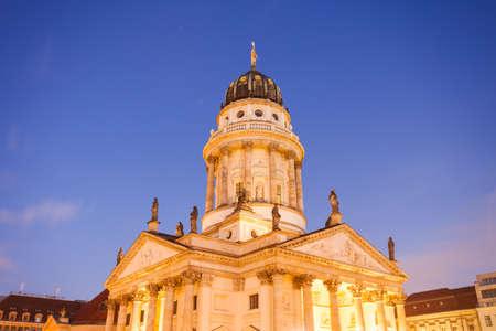 dom: Französicher Dom (French Cathedral), Berlin Gendarmenmarkt, Germany