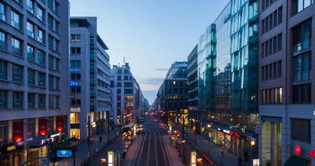 frederick street: Berlin Friedrichstrasse, a major culture and shopping street