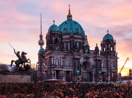 dom: The Protestant Berlin Cathedral (Berliner Dom), Germany