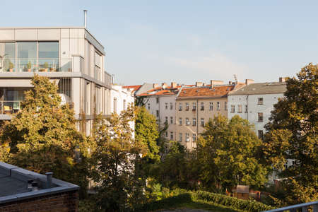 townhomes: A mix of new and old apartments in Berlins Prenzlauer Berg neighborhood