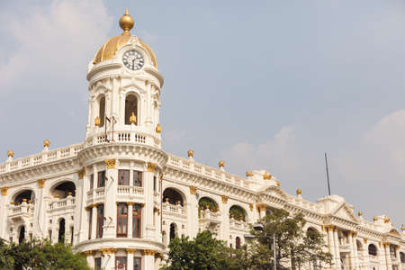 elaborate: The Metropolitan Building (Whiteway Laidlaw department store) in Kolkata (Calcutta), India
