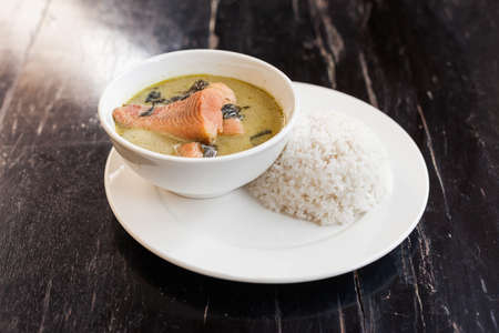 Khmer Amok with Fish, a traditional Cambodian dish