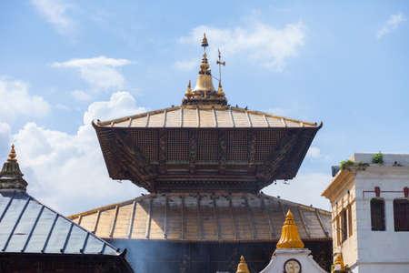 Pashupatinath, a very sacred Hindu temple complex in Kathmandu, Nepal Stock Photo - 120822885