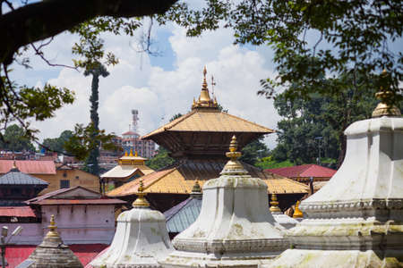 Pashupatinath, a very sacred Hindu temple complex in Kathmandu, Nepal Stock Photo - 120822909