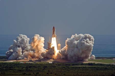 launching: Shuttle Endeavour Launch