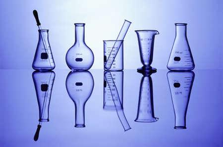 volumetric flask: Science Laboratory glassware for research