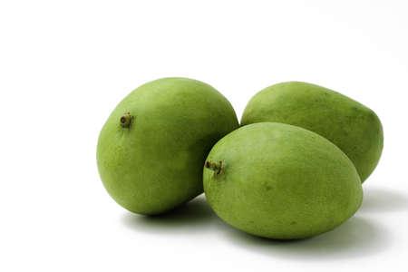 green mango: Food Related: Three Whole Green Mango