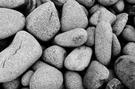 Beach Stones smoothed by the waves