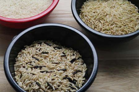 bowels: Three bowels of rice