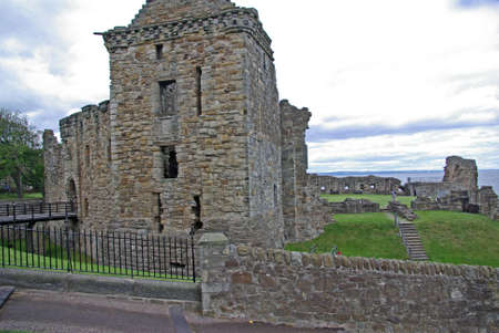 The ruins of St Andrews Castle photo