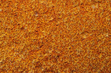 oxidado: Fondo de acero oxidado