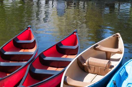 Verhuur kano's op Dows Lake