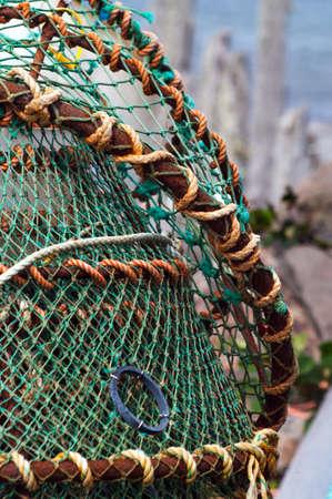 crab pots: Crab Pots after the season Stock Photo