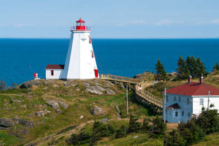Swallowtail Lighthouse on Grand Manan photo
