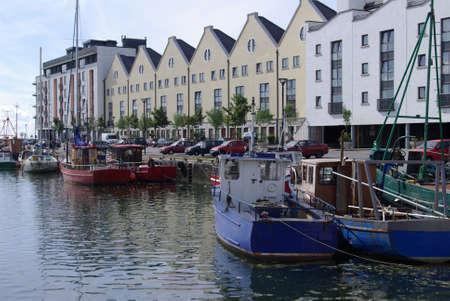 fishing fleet: Galway Fishing Fleet in the harbour
