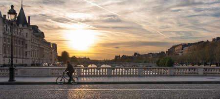 au: Paris Pont au Change Stock Photo