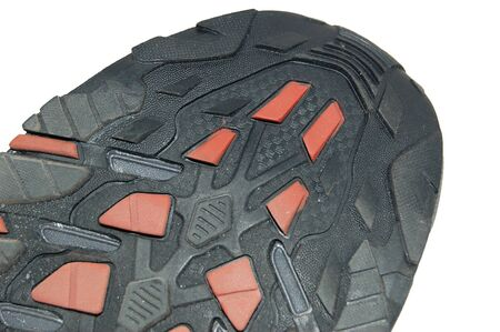 outsole: The boot sole isolated Stock Photo