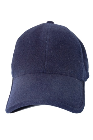 The old baseball cap isolated