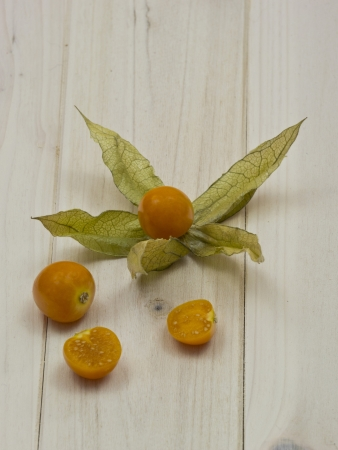 Physalis or cape gooseberry photo