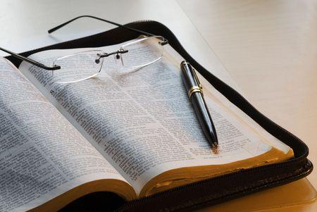 leyendo la biblia: Libro de estudios