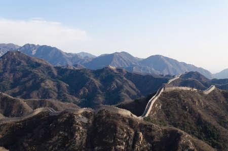 badaling: Badaling Great Wall a Yanqing County Pechino Cina costruito nel 1504 durante la dinastia Ming 1015 metri sul livello del mare