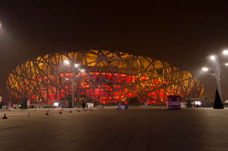 Beijing National Stadium Bird\\