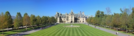 Biltmore Estate in Asheville, NC Stock Photo