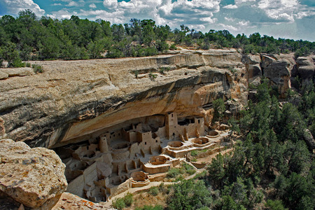 Mesa Verde National Park 스톡 콘텐츠