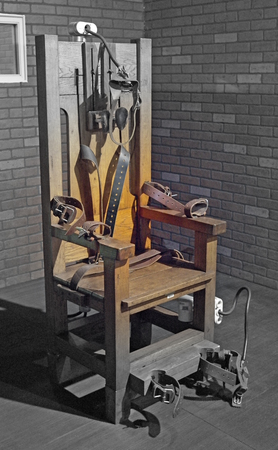 Electric Chair in Huntsville, Texas