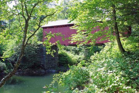 Covered Bridges in Vermont Banco de Imagens