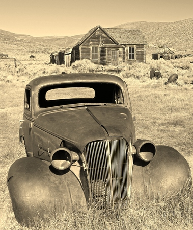 Abandoned Car in Bodie, California