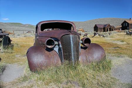 Old Car in Bodie, California