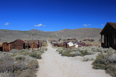Ghost Town of Bodie, California Stock Photo