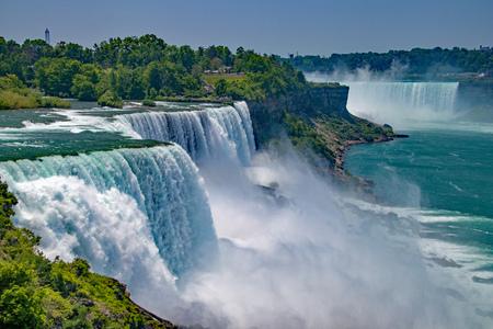 Chutes du Niagara à New York et au Canada