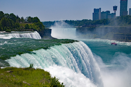 Niagara Falls in New York and Canada