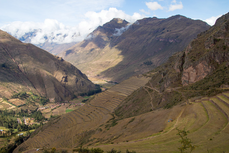 Sacred Valley in the Andes of Peru