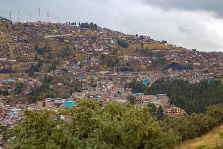 Landscape of Cuzco Peru Imagens