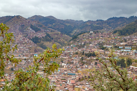 Landscape of Cuzco Peru Banco de Imagens