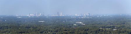 Atlanta from Stone Mountain Imagens
