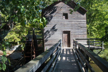 Grist Mill at Stone Mountain Banco de Imagens